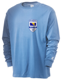 Bosnia-Herzegovina Soccer  Russell Men's Long Sleeve T-Shirt