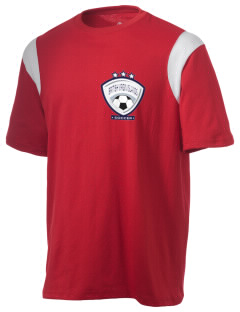 British Virgin Islands Soccer Holloway Men's Rush T-Shirt