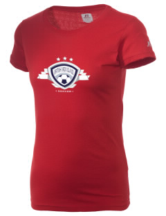 British Virgin Islands Soccer  Russell Women's Campus T-Shirt