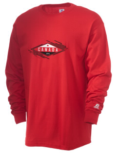 Canada Soccer  Russell Men's Long Sleeve T-Shirt