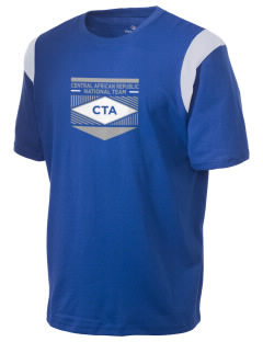 Central African Republic Soccer Holloway Men's Rush T-Shirt