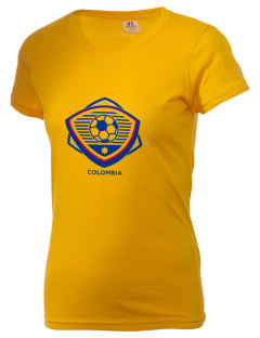 Colombia Soccer  Russell Women's Campus T-Shirt