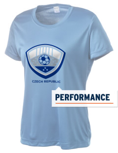 Czech Republic Soccer Women's Competitor Performance T-Shirt