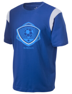 Djibouti Soccer Holloway Men's Rush T-Shirt