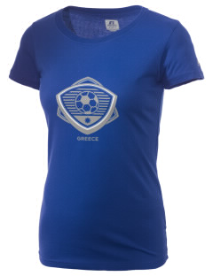 Greece Soccer  Russell Women's Campus T-Shirt