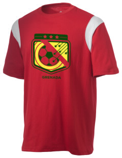 Grenada Soccer Holloway Men's Rush T-Shirt