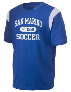 San Marino Soccer Holloway Men's Rush T-Shirt