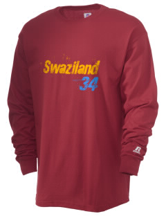 Swaziland Soccer  Russell Men's Long Sleeve T-Shirt