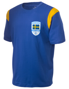 Sweden Soccer Holloway Men's Rush T-Shirt