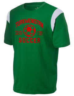 Turkmenistan Soccer Holloway Men's Rush T-Shirt
