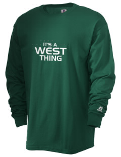 West Elementary School tornadoes  Russell Men's Long Sleeve T-Shirt