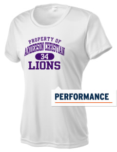 Anderson Christian School Lions Women's Competitor Performance T-Shirt
