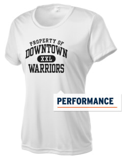 Downtown Middle School Warriors Women's Competitor Performance T-Shirt