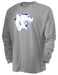 Gowanda School Panthers  Russell Men's Long Sleeve T-Shirt