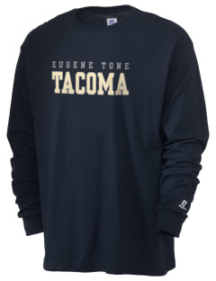 Eugene Tone School Tacoma  Russell Men's Long Sleeve T-Shirt