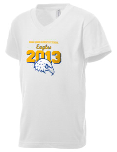 Eagle Creek Elementary School Eagles Kid's V-Neck Jersey T-Shirt