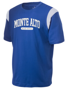 Monte Alto Junior High School Blue Devils Holloway Men's Rush T-Shirt