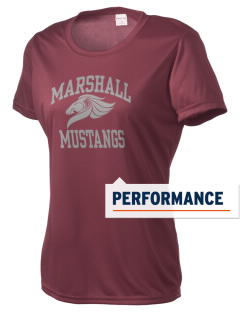 Marshall Middle School Mustangs Women's Competitor Performance T-Shirt