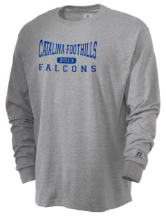 Catalina Foothills High School Falcons  Russell Men's Long Sleeve T-Shirt