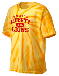 Liberty Alternative Education Center Lions Kid's Tie-Dye T-Shirt