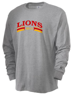 Liberty Alternative Education Center Lions  Russell Men's Long Sleeve T-Shirt