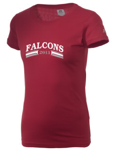 Fancher Creek Elementary School Falcons  Russell Women's Campus T-Shirt