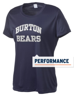 Burton Elementary School Bears Women's Competitor Performance T-Shirt
