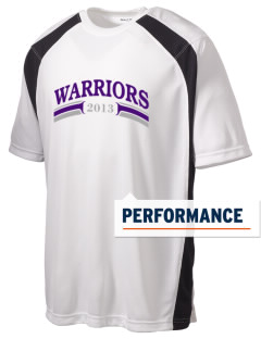 Modoc Middle School Warriors Men's Dry Zone Colorblock T-Shirt