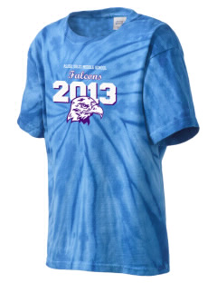 Aliso Viejo Middle School Falcons Kid's Tie-Dye T-Shirt