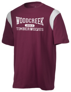 Woodcreek High School Timberwolves Holloway Men's Rush T-Shirt