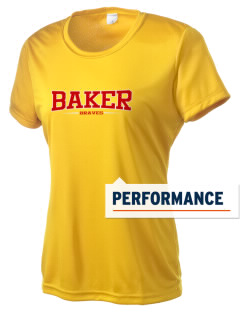 Baker Elementary School Braves Women's Competitor Performance T-Shirt