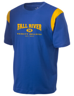 Fall River Senior High School Bulldogs Holloway Men's Rush T-Shirt