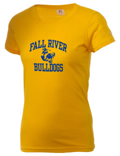 Fall River Senior High School Bulldogs  Russell Women's Campus T-Shirt