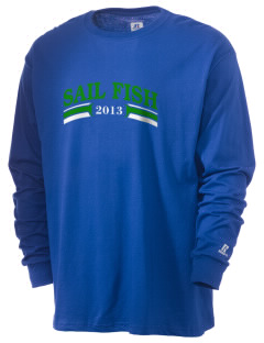 Felix A Williams Elementary School Sail Fish  Russell Men's Long Sleeve T-Shirt