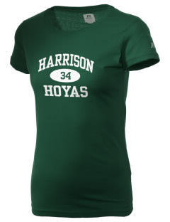 Carl Harrison High School Hoyas  Russell Women's Campus T-Shirt