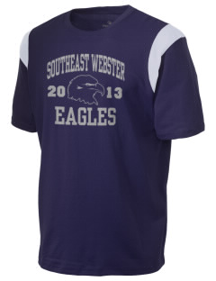Southeast Webster Middle School Eagles Holloway Men's Rush T-Shirt