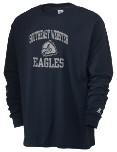 Southeast Webster Middle School Eagles  Russell Men's Long Sleeve T-Shirt