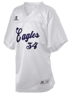 Southeast Webster Middle School Eagles Russell Kid's Replica Football Jersey