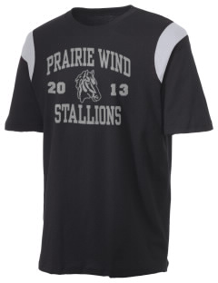 Prairie Wind Elementary School Stallions Holloway Men's Rush T-Shirt