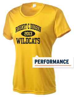 Robert C Dodson Elementary School Wildcats Women's Competitor Performance T-Shirt