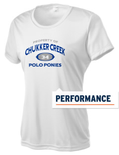 Chukker Creek Elementary School Polo Ponies Women's Competitor Performance T-Shirt