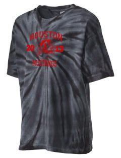 Houston High School Mustangs Kid's Tie-Dye T-Shirt