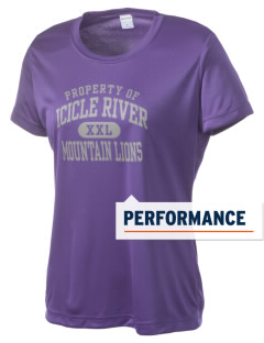 Icicle River Middle School Mountain Lions Women's Competitor Performance T-Shirt