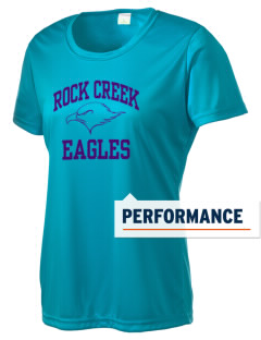 Rock Creek Elementary School Eagles Women's Competitor Performance T-Shirt