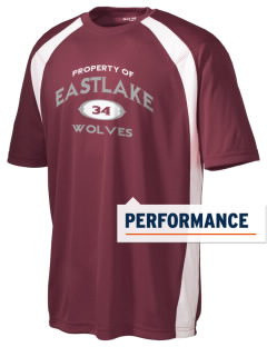 Eastlake High School Wolves Men's Dry Zone Colorblock T-Shirt