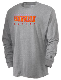 Sunrise School Eagles  Russell Men's Long Sleeve T-Shirt