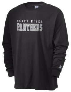 Black River High School Panthers  Russell Men's Long Sleeve T-Shirt