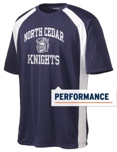 North Cedar Middle School Knights Men's Dry Zone Colorblock T-Shirt