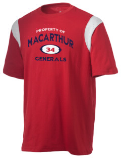 Douglas MacArthur High School Generals Holloway Men's Rush T-Shirt