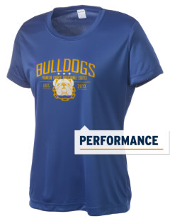 Franklin County Vocational Center Bulldogs Women's Competitor Performance T-Shirt